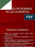 ECOLOGIA MICROBIANA DE LOS ALIMENTOS