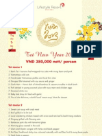 Tet Vietnamese New Year at Lifestyle Resort Da Nang, Vietnam