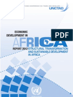 AFRICA ECONOMIC GROWTH 2012