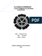 E-Commerce Pemanfaatan Dalam Bisnis Di Indonesia