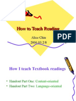 How to Teach Reading