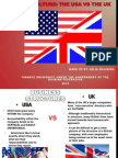 Business culture of the UK and USA