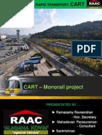 COIMBATORE MONO RAIL PROJECT