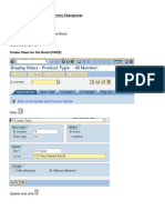 SAP Money Market manual