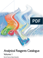 Analytical Reagents Catalog