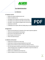 Basic tasks of a Tax Administration_AL-Tax