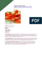 Carpaccio de fraises gariguette et granité au basilic