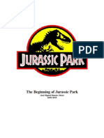 The Beginning of Jurassic Park