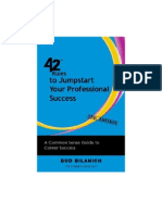 42 Rules to Jumpstart Your Professional Success (2nd Edition)
