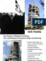 Ken Yeang's Architecture Style