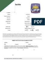 Hoja Afiliacion UFP