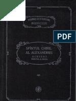 39 Chiril Al Alexandriei Scrieri II Psb