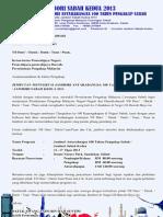 Borang Penyertaan dan Panduan Jambori Antarabangsa Sabah Kedua 2013