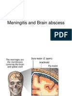 Meningitis and Brain abscess