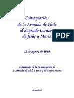 Consagración de la Armada de Chile al Sagrado Corazón de Jesús y María