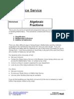 Algebra modulus