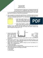 Post Exercise Fisika -  Fluida