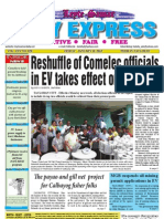 Reshuffle of Comelec officials in EV takes effect on Monday