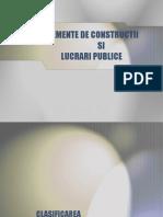 clasificarea constructiilor
