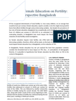 Impact of female education on fertility perspective Bangladesh.docx