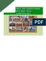Programación final E.F. 12-13