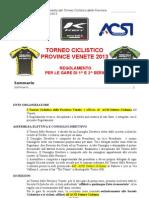 Regolamento Torneo Province Venete 2013