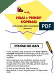 Nilai & Prinsip Koperasi