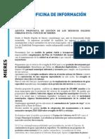 Propuesta PP mierense sobre recogida de basura en cubos