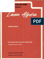 Linear algebra pdf schaums