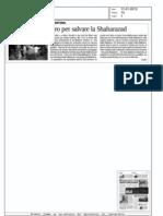 Una sedia e un libro per salvare la Shaharazad
