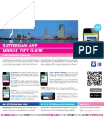Flyer Rotterdam App