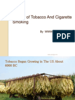 History of Cigarettes