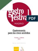 "Guia ""Gastrofestival 2013"""