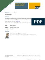 SAP BI (DSO)