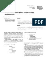 clasificacion de la enfermedad periodontal
