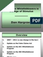 D Hargrove Slides (SBOT - Advanced Employment Law CLE Jan. 2013)