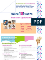 baskin robbins supply chain Baskin-robbins is the world's largest chain of ice cream specialty shops and is based in canton, massachusetts it was founded in 1945 by burt baskin and irv robbins in glendale, california.