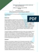 Memorandum ASOCIACIÓN SAHARAUI DE VÍCTIMAS DE VIOLACIONES GRAVES DE DERECHOS HUMANOS