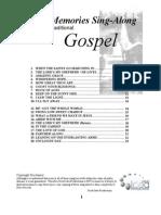 Gospel Lyrics 2013
