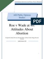 Roe v. Wade at 40