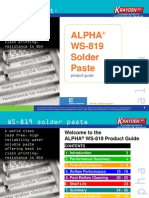 Solder preforms for product and process improvement By Krayden Alpha technical specialist.