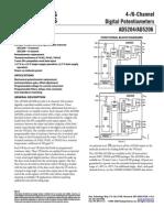 DigitalPotentiometers AD5204-AD5206