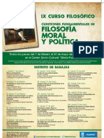 IX Curso Filosófico del Distrito de Barajas