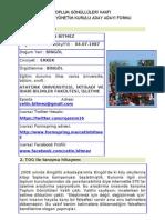 Çetin Bitmez., TOG, Yönetim Kurulu Aday Adayı Formu