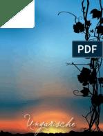 Ungarische weinbaugebiten und resorten
