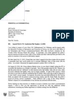 Preliminary Reconsideration Decision, Joseph Bhikram, Police Urination, IPC
