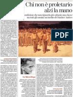 Sulla fine del proletariato di GÜNTHER ANDERS - La Stampa 17.01.2013
