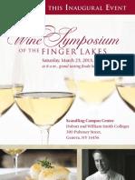 Wine Symposium of the Finger Lakes