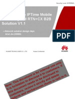 HLD Guide to IPTime Mobile Bearer Hybrid RTN+CX B2B Solution V1.1