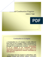 combustion in ci engines